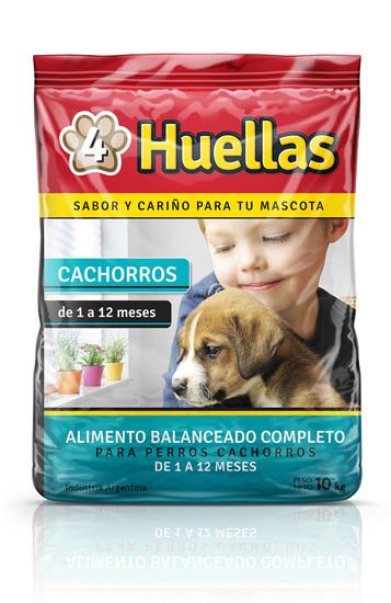 4 Huellas cachorros 10kg